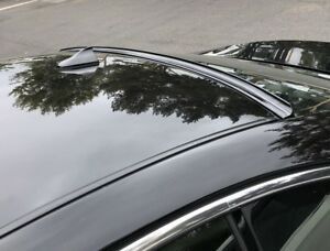 Painted Black For 2008 2014 Benz C class W204 Sedan rear Window Roof Spoiler