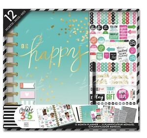 New Create 365 The Happy Planner Be Happy Every Day Planner
