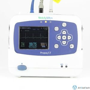Welch Allyn Propaq Lt Vital Signs Monitor Ecg Spo2 Nibp