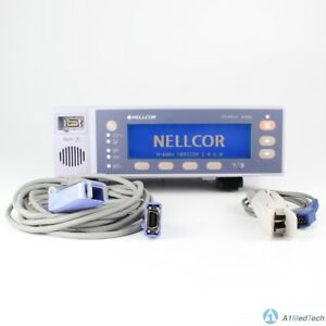 Nellcor N 600x Spo2 Monitor Pulse Oximeter