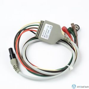Welch Allyn 008 0522 00 Micropaq Ecg 5 Lead Cable