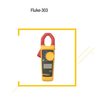 Fluke 303 Clamp Multimeter Ac dc Handheld 600a 30mm 4000 With Backlight F303