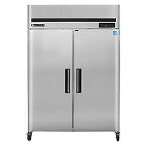 New Maxx Cold Mcrt 49fd Commercial Top Mount Reach In Refrigerator Cooler