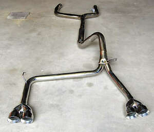 1993 1997 Camaro Trans Am Catback Exhaust Ypipe And Tips Z28 Ss V8 Lt1 Stainless
