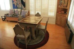 Art Deco 1930 S Table With 4 Chairs