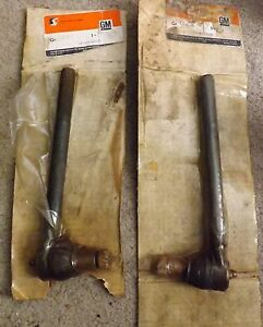 Nos 1971 1975 Chevelle Cutlass Catalina Outer Tie Rod Pair 7816952