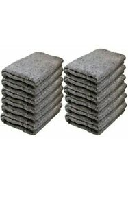 Moving Padding Blankets 72 x54 Furniture Protection Blankets 12 Pieces