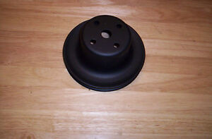 Mopar 340 318 273 Water Pump Pulley Single Groove Non Air Rare