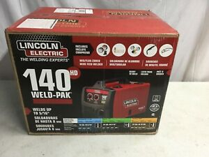 Lincoln Electric 140hd Weld Pak Mig Wire Feed Welder Brand New Sealed Box