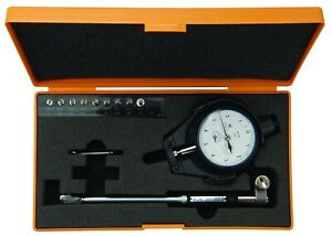 New Mitutoyo Complete Small Hole Dial Bore Gage Gauge Set 0 4 0 75 0 0001