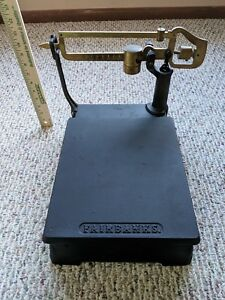Vintage Fairbanks Flat Platform Scale