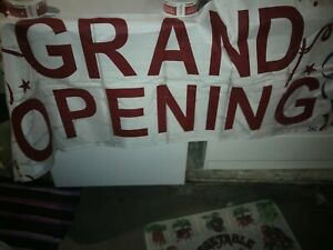 Sign Grand Opening