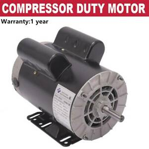 5 Hp 1phase 3450rpm Electric Air Compressor Duty Motor 56 Frame 5 8 Shaft 60hz
