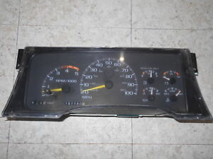 1998 Chevy 6 5 Diesel Gauge Cluster 5 Speed