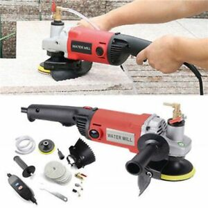 1400w Variable Speed Wet Polisher Grinder Polishing For Concrete Marble Granite