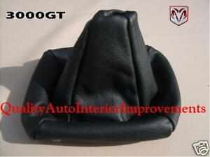 For 91 To 99 Mitsubishi 3000gt Vr4 Sl Interior Gear Shift Boot Cover Only