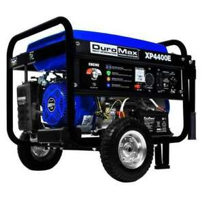 Duromax Xp4400e 3500w 4400w Gas 7 Hp Electric Start Generator New