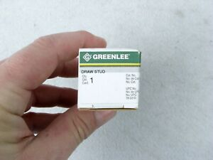 Greenlee 34421 Replacement Draw Stud For Knockout Punches 3 8 inch By 3 1 2