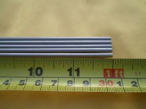25 Pcs Stainless Steel Round Rod 304 1 8 125 3 24mm X 12 Long