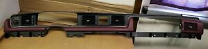 1992 Ford Crown Victoria Dash Panel Bezel Red With Vents