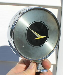 Vintage Ford Falcon Aftermarket Chrome Round Exterior Side View Mirror