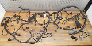 1998 Ford 4 6 Mustang Gt Computer Fuel Injection Engine Wiring Wire Harness Oem