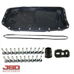 New Transmission Oil Pan Filter For Land Rover Jaguar Xf Bmw W Gasket And Bolts