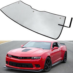 Car Uv Reflective Window Windshield Sun Shade Visor Foldable For Chevy Camaro y