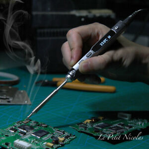 Mini Ts100 Soldering Iron Electric Portable 65w Digital Oled With I Tip Dc5525