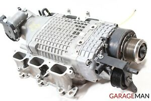02 04 Mercedes W203 C32 Amg Engine Turbo Supercharger Turbocharger Air Cooler