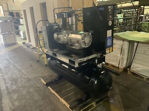 Ingersoll rand Rotary Air Compressor 15 hp sp 230 460v 3 Phase