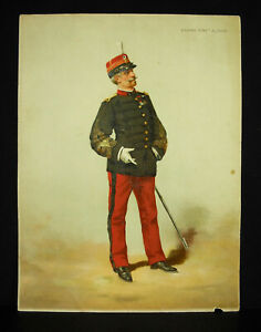 A Legras Colonel Infantry Of Line Chromolith C1880 Uniform Military