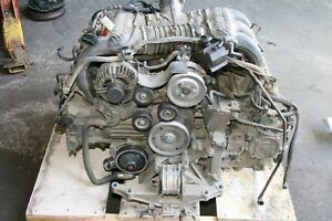 Porsche Boxster 986 2000 2002 2 7l Engine Motor Drop Out 120k Leakdown Tested
