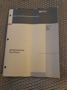 Operating And Service Manual For Hp 8481a 8482a 8483a Power Sensor