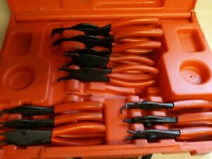 Snap On Tools Srpc112 11 Piece Retaining Ring Pliers Set Snap Ring