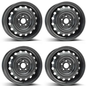 4 Alcar Steel Wheels 8037 6 0x15 Et48 5x100 For Subaru Impreza Rims