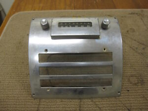 Hudson Plymouth Hn2m Vintage Car Audio Radio With Dash Bezel