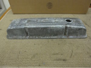 Vintage Weiland Small Block Chevy Finned Aluminum Valve Cover Singe