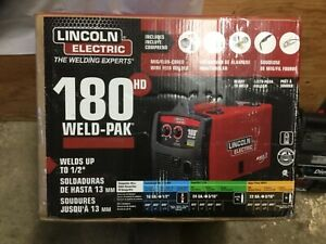 Lincoln Electric 180 Hd mig Mig flux cored Wire Feed Welder Model K2515 1