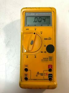 Fluke 23 Series Ii Multi Meter With Rubber Protective Cover