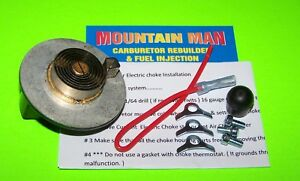 Electric Choke Kit W Pigtail Rochester 2gc 2 Bbl Convert Hot Air To Electric