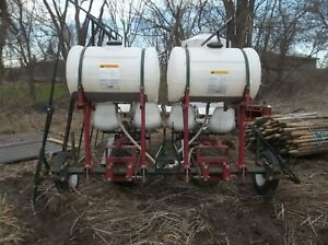 Holland Transplanter Co Food Plots Tomato 2 Row 3pt Vegetable Planter