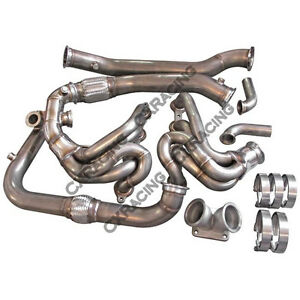 Cx Ls1 Turbo Manifold Header Kit For Subaru Brz Scion Frs Lsx Swap