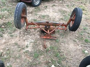 Allis Chalmers Wd Wd45 Tractor Wide Front End