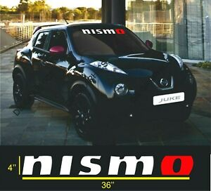 Nismo Windshield Vinyl Decal Sticker all Cars
