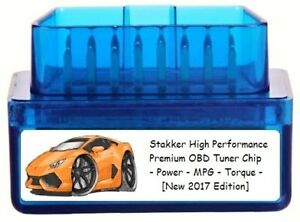 Stakker High Performance Chip Tuner Add 150 Hp 5 Mpg Obd Tuning For Gm Truck