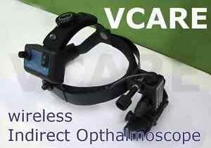 Indian Wireless Indirect Ophthalmoscope With 20d Lens And 4 Scleral Depressors
