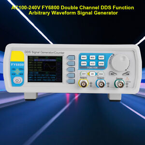 Fy6800 2 Channel Dds Function Arbitrary Waveform Signal Generator 30 60mhz Be