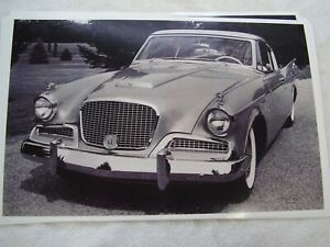 1958 Studebaker Golden Hawk 11 X 17 Photo Picture