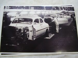 1949 Mercury Assembly Line 11 X 17 Photo Picture